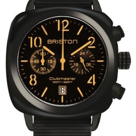 Briston Design Team - ClubMaster Chronographe Date - Black/Mat Black