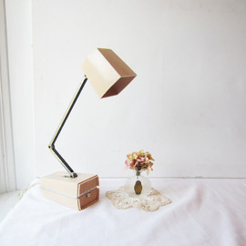TheeLetterQ - Vintage Pink Beige Ever Ready Portable Foldable Lamp