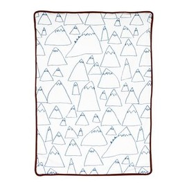 fine little day - MOUNTAINS BABY BLANKET