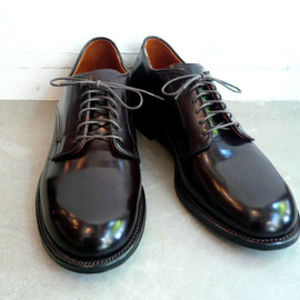 Black shell loafers