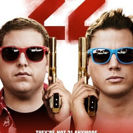 Chris Miller, Phil Lord - 22 jump street poster