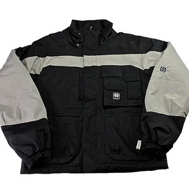 Vision Street Wear - Vision Street Wear Snowboarding Jacket Black/Gray Mens Size Medium