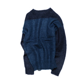 uniform experiment - MOHAIR CREW NECK KNIT