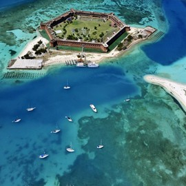 Dry Tortugas National Park, Florida -  'Fort Jefferson'