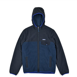 Patagonia - Men's Shelled Synchilla Snap-T Hoody-BLK