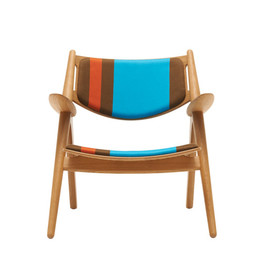 Paul Smith, Carl Hansen & Søn, Maharam - CH24 Lounge Chair – Big Stripe Version C