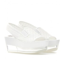 Stella McCartney - LINDSAY WEDGES WITH TRANSPARENT HEEL