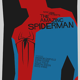 Alex Clark - Saul Bass Inspired Spiderman poster