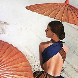 Virginia Stewart by Louise Dahl-Wolfe  Harper's Bazaar,1948