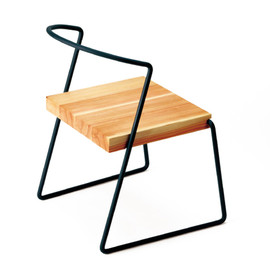 soup by suppe - 小泉誠デザイン miyakonjo product(ミヤコンジョプロダクト)<br>TETSUBO chair(チェアー)和、シンプル