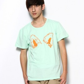 bonjour records - KITSUNE TEE / FOX EARS