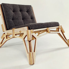 null - Spaceframe Furniture by Gustav Düsing