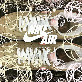 NIKE, KITH - Air Force 1 Low - Linen (2016)