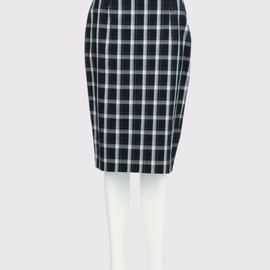 G.V.G.V. - TARTAN CHECK FITTED SKIRT