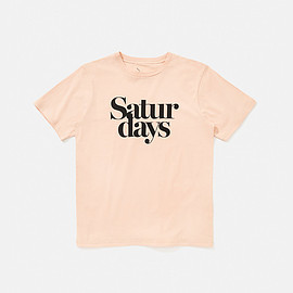 Saturdays Surf NYC - Miller Black T-Shirt, Clay