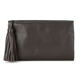 Sarah Chofakian - leather clutch
