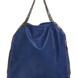 STELLA MCCARTNEY - LARGE FALABELLA SHAGGY ECO DEER BAG