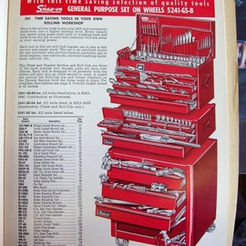 Snap-on - vintage snap-on ads catalog 1960's