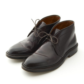 R for J.Crew waxed Longwing bluchers