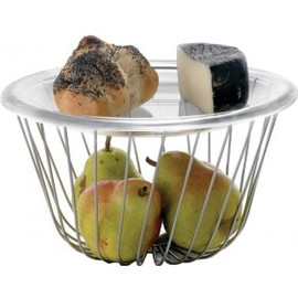 ALESSI, A Tempo - wire fruit basket
