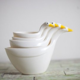 animalheadvintage - Stacking Duck Measuring Cups