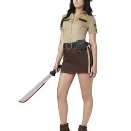 Walking Dead Sassy Rick Grimes Womens Costume
