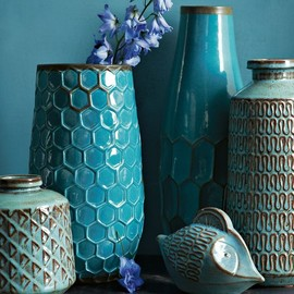 west elm - Geometric Vase Collection