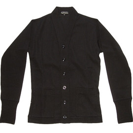 Pioneer Tailoring ( WARP AND WOOF ) - Original A/W Belted Back Cardigan ( SAMPLE )