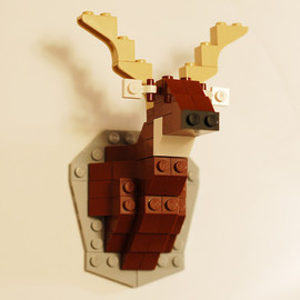 David Cole - Taxidermy Deer LEGO Kit