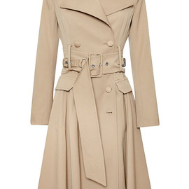 BOUCHRA JARRAR - SS2015 Saharien Summer Canvas Coat