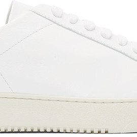 Off-White - White Leather Sneakers