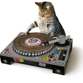 SUCK UK - CAT SCRATCH TURNTABLE DJ DECK