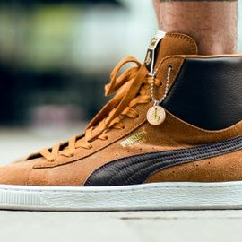 PUMA - PUMA SUEDE MID BROWN YEAR OF THE HORSE