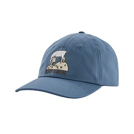 patagonia - Eat Local Goat Trad Cap, Woolly Blue (WOBL)