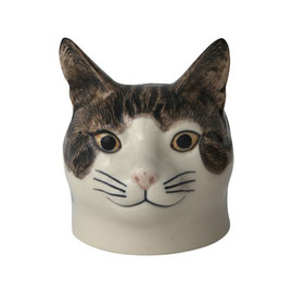 Edith The Cat Egg Cup, Quail