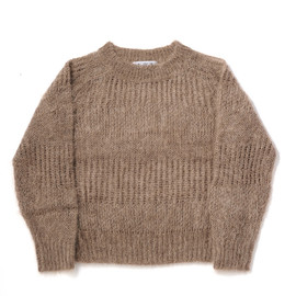 bal - KID MOHAIR HOLLOW SWEATER