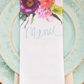 party! - garden wedding stationery