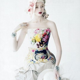 Mary Katrantzou by Tim Walker