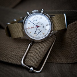 Seagull 1963 Chronograph #watch #time #military #green #army