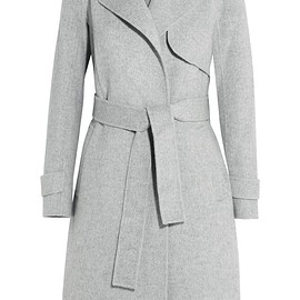 Theory - Oaklane brushed wool and cashmere-blend coat