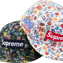 Supreme - Floral Box Logo New Era