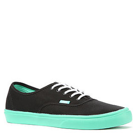VANS - The Authentic Lite Sneaker in Black & Biscay Green