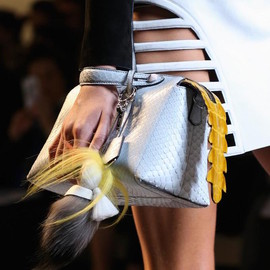 Fendi - Fendi By The Way Small Python Satchel Bag