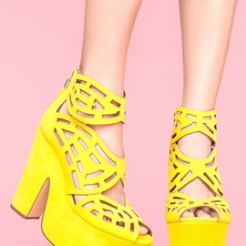 Gallista Platform - Yellow