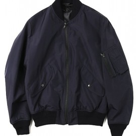 N.HOOLYWOOD Compile Line - MA-1 JACKET (navy) No:242-BL01peg