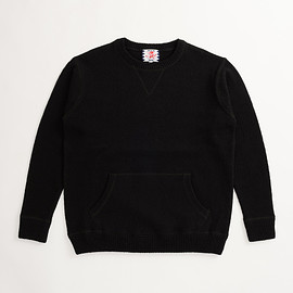 SON OF THE CHEESE - HAMADA KNIT (BLACK)