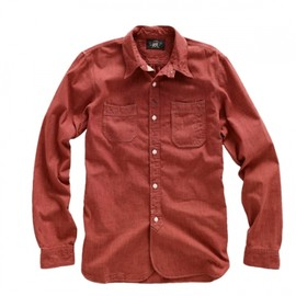 RRL - Red Chambray Jackrabbit Shirt