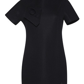 VIKTOR & ROLF - SS2016 Couture Capsule Collection Black Technical Pique Polo Tunic