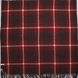 Horse Blanket Research - 008 Baggy Stole (WINE)