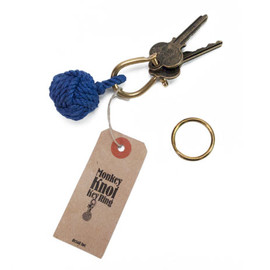 DETAIL.inc - monkey knot key ring shorty